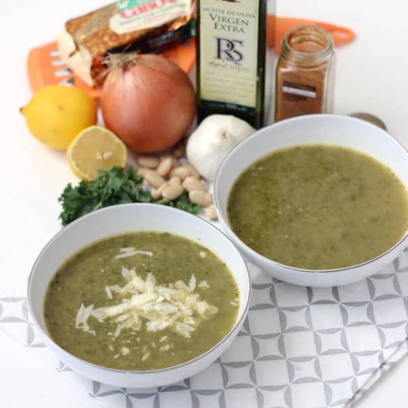Smoky Kale Soup from Living Well Kitchen @memeinge