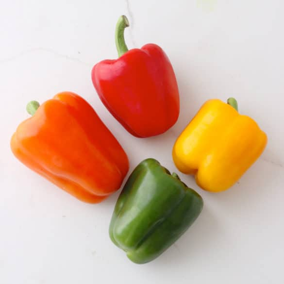 [Veggies All Year] Bell Peppers from Living Well Kitchen