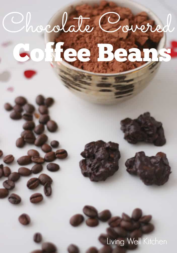 Chocolate Covered Coffee Beans from Living Well Kitchen
