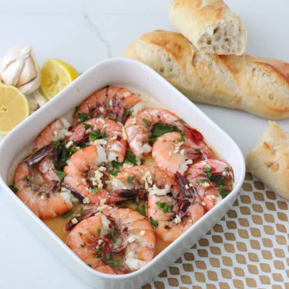 Lemon Garlic Shrimp from Living Well Kitchen
