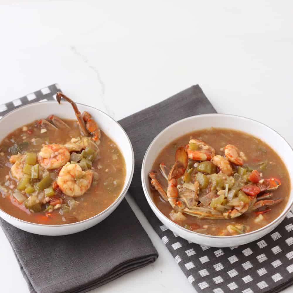 Seafood Gumbo from Living Well Kitchen @memeinge