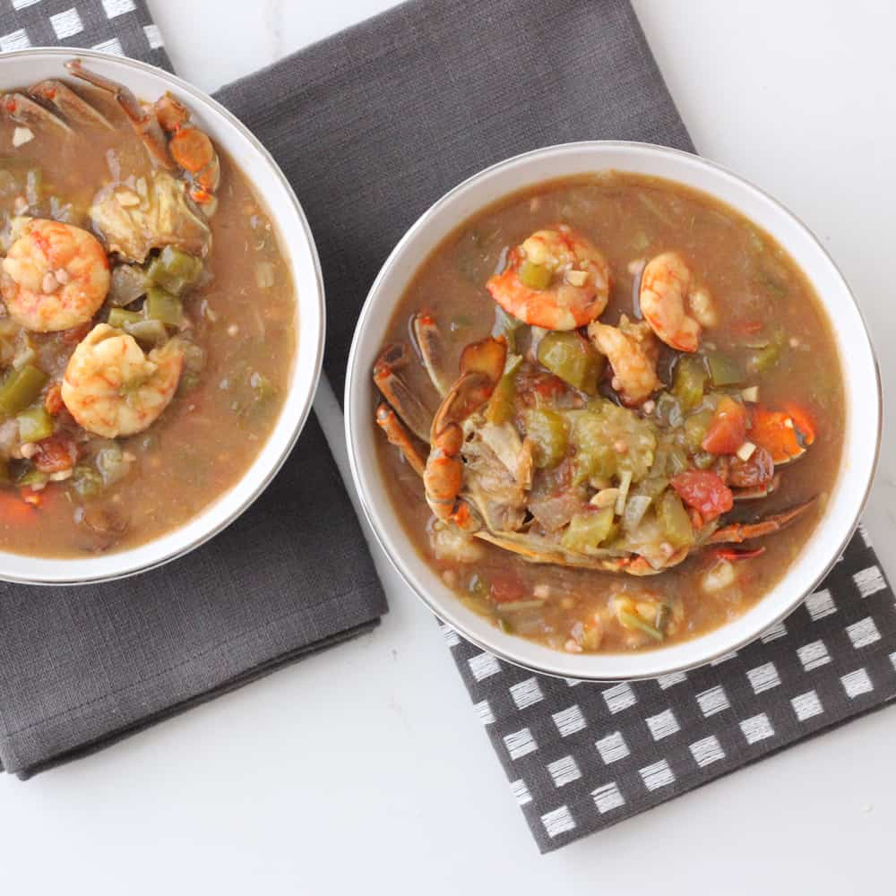 Seafood Gumbo | Living Well Kitchen