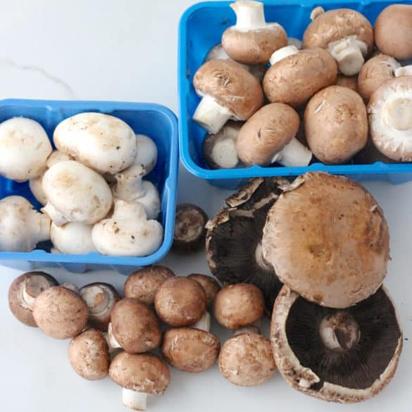 {Veggies All Year} Mushrooms from Living Well Kitchen