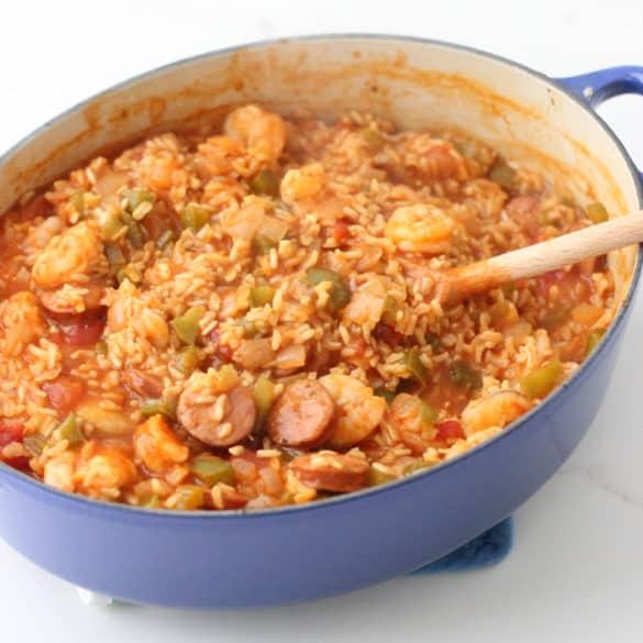 Jambalaya from Living Well Kitchen
