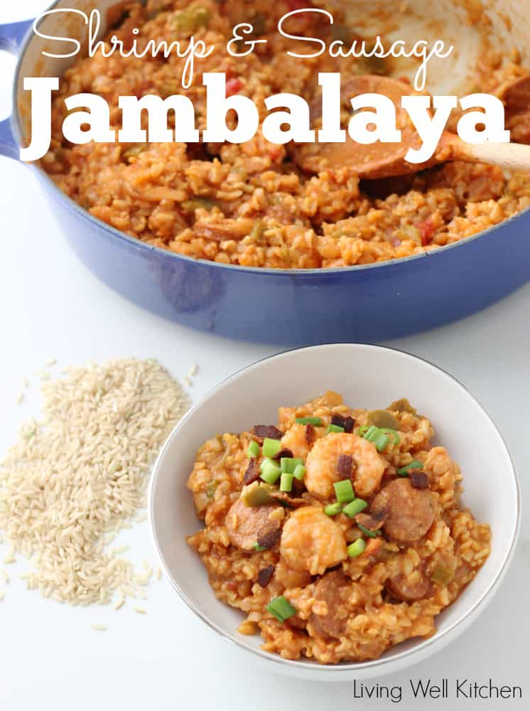 Jambalaya from Living Well Kitchen @memeinge