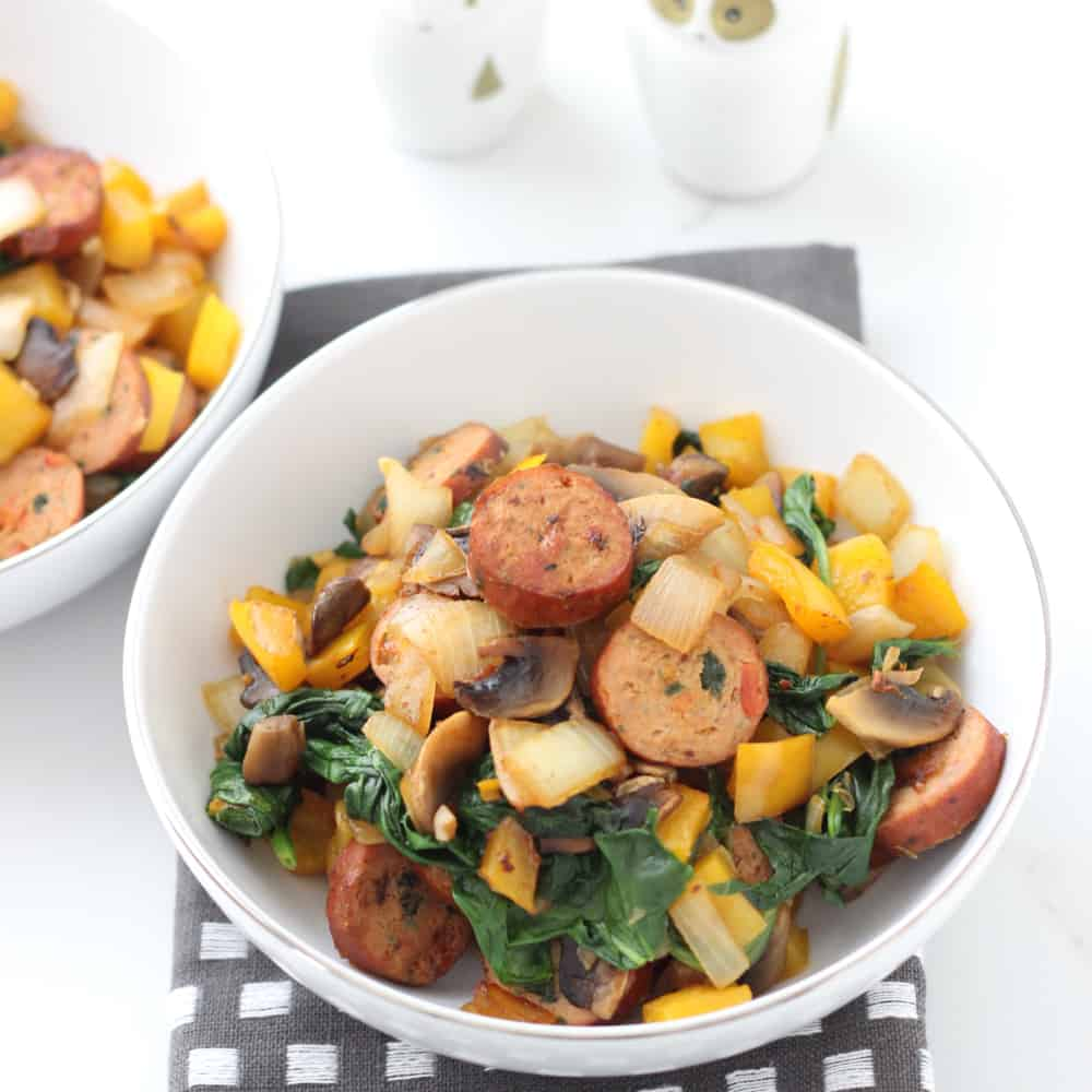 Sausage and Veggie Stir Fry from Living Well Kitchen
