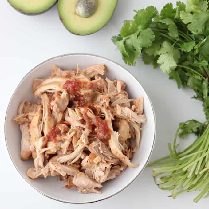 Salsa Chicken from Living Well Kitchen