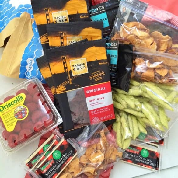 Travel Snacks from Living Well Kitchen