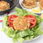 Gluten free Crab Cakes from Living Well Kitchen @memeinge