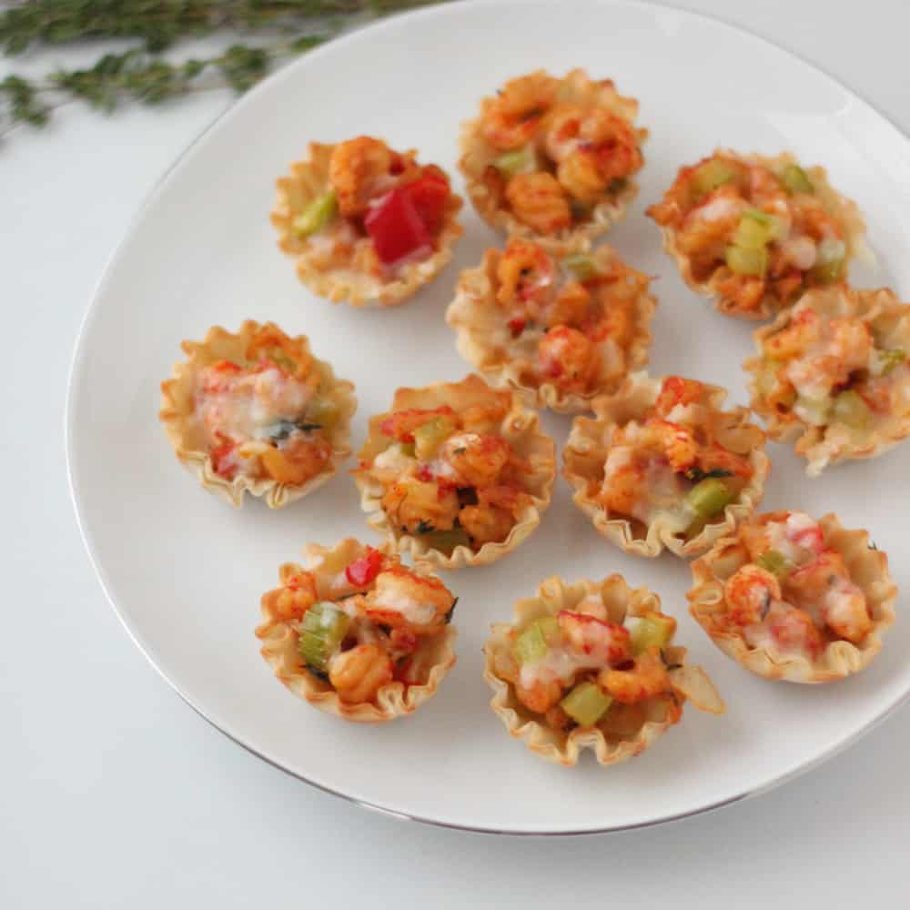 Mini Crawfish Pies from Living Well Kitchen