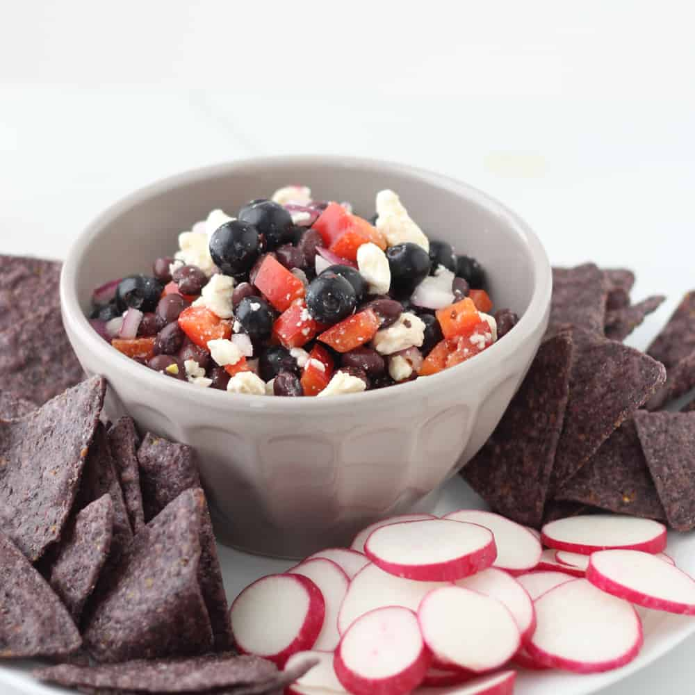 4th of July Salsa from Living Well Kitchen