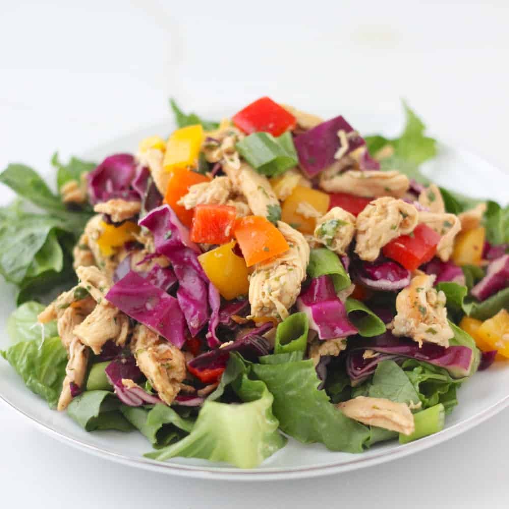 Chinese Chicken Salad from Living Well Kitchen