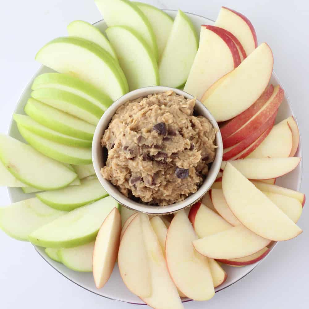 Chocolate Chip Cookie Dough Dip | Living Well Kitchen