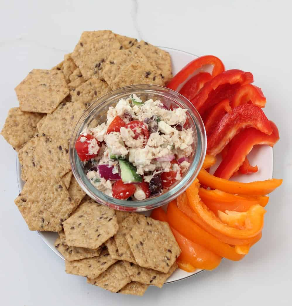 Greek Tuna Salad from Living Well Kitchen