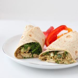 Southwest Tuna Wrap