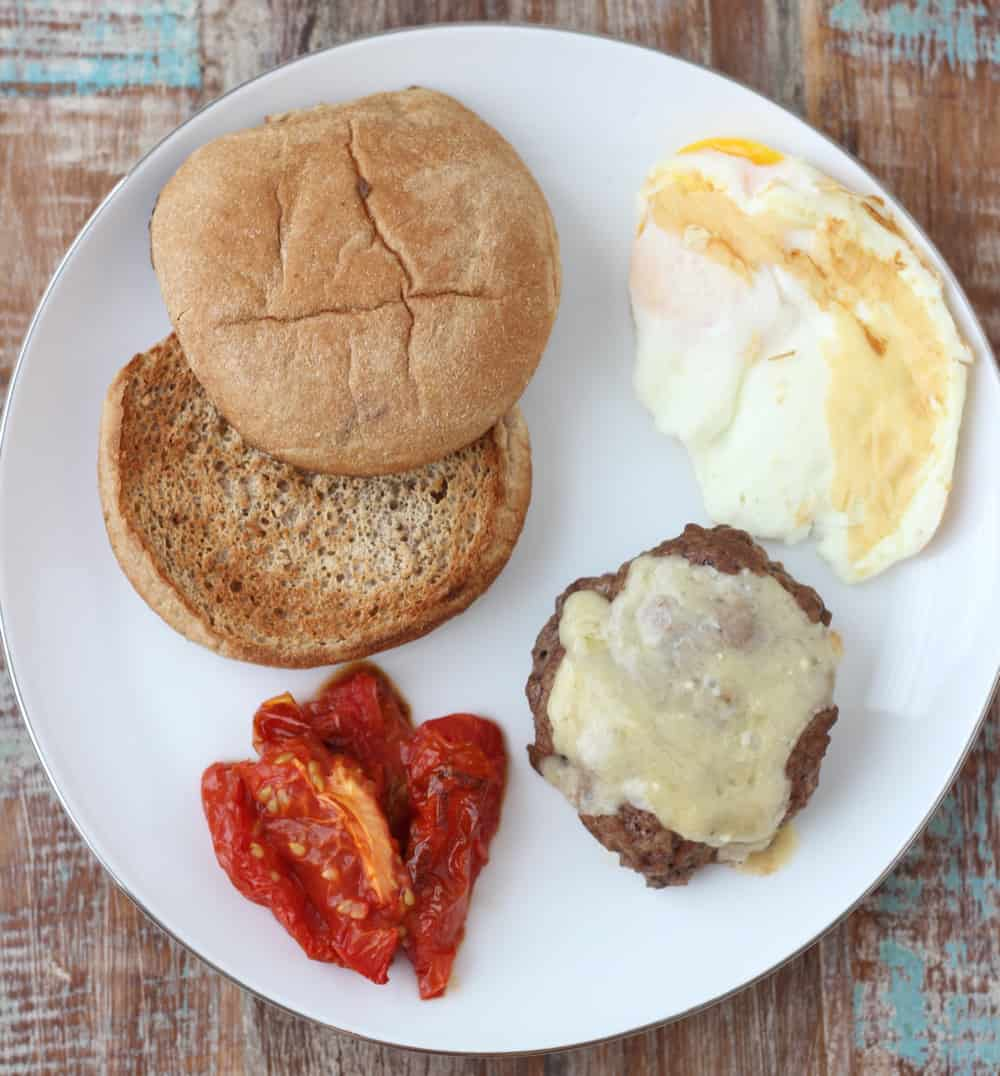 Breakfast Burger from Living Well Kitchen