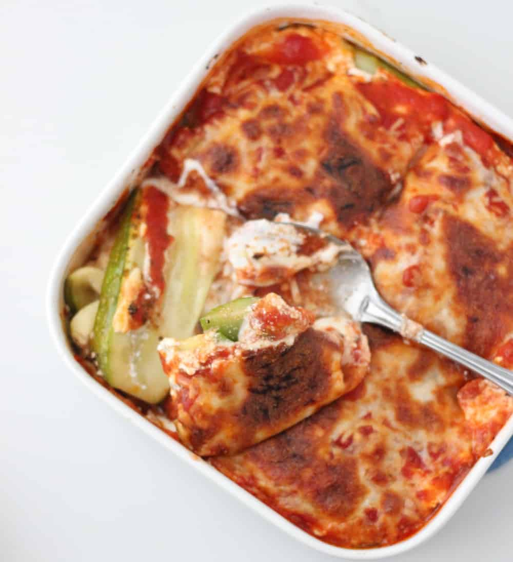 Zucchini Lasagna from Living Well Kitchen