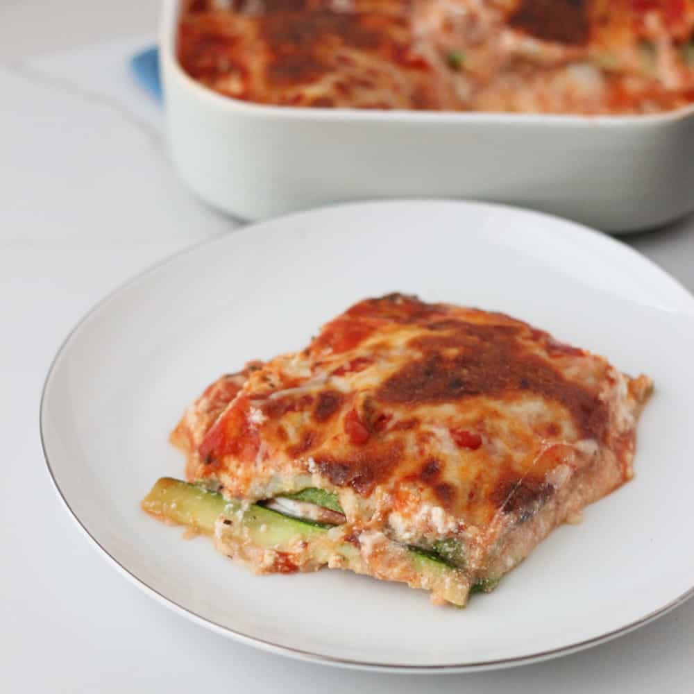Zucchini Lasagna from Living Well Kitchen @memeinge