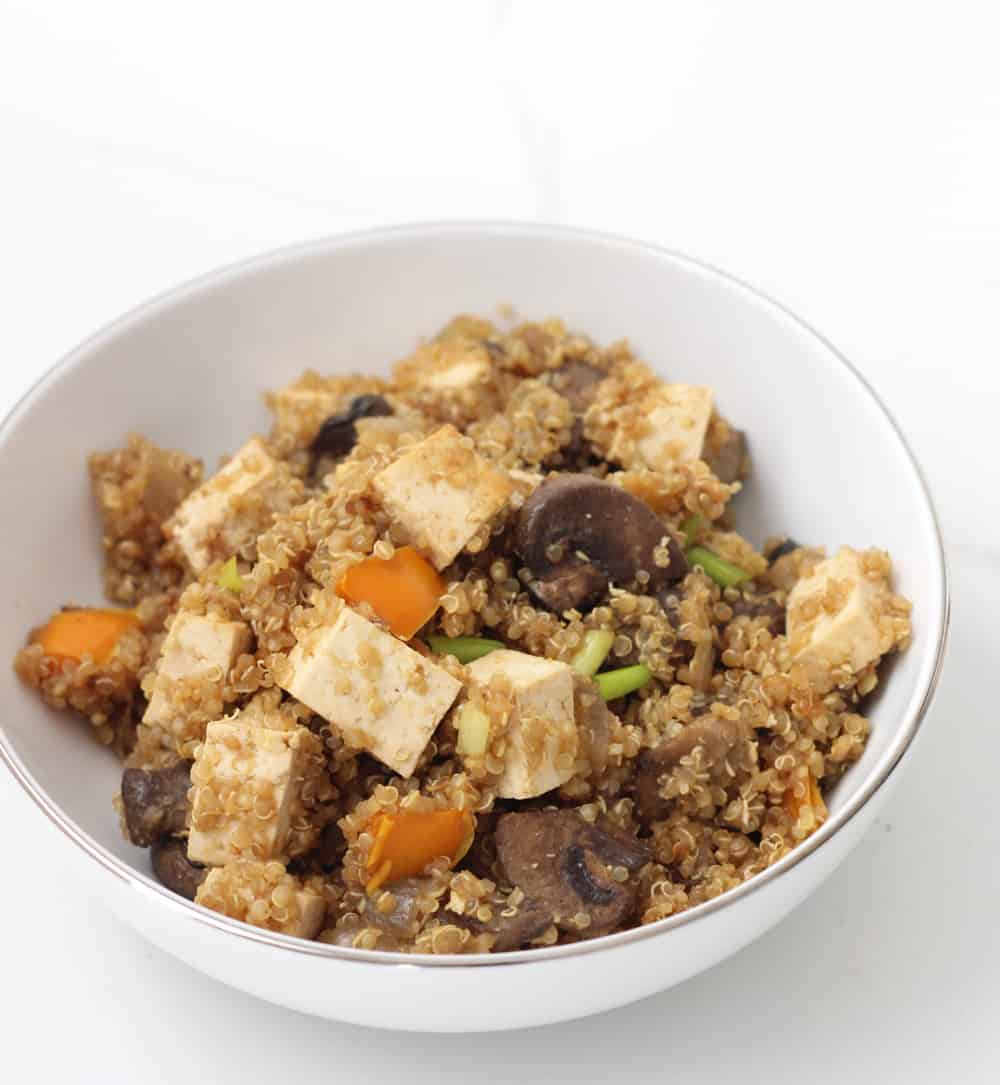 Vegetarian Fried Quinoa from Living Well Kitchen