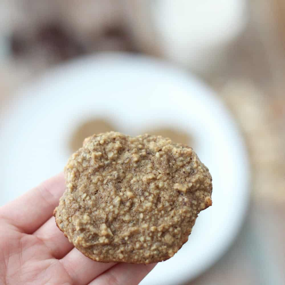 No Sugar Added Cashew Sugar Cookies from Living Well Kitchen