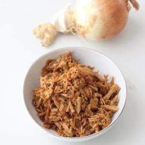 Slow Cooker Garlic Ginger Pork