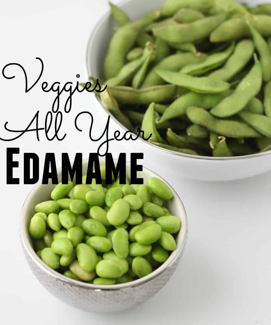 Celebrate Veggies All Year - Edamame from Living Well Kitchen
