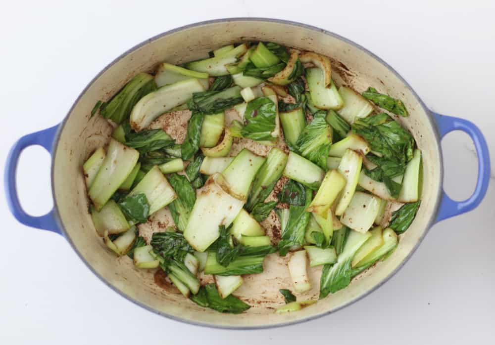 Five Spice Baby Bok Choy from Living Well Kitchen