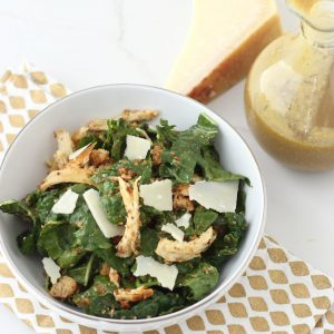 Kale Caesar from Living Well Kitchen
