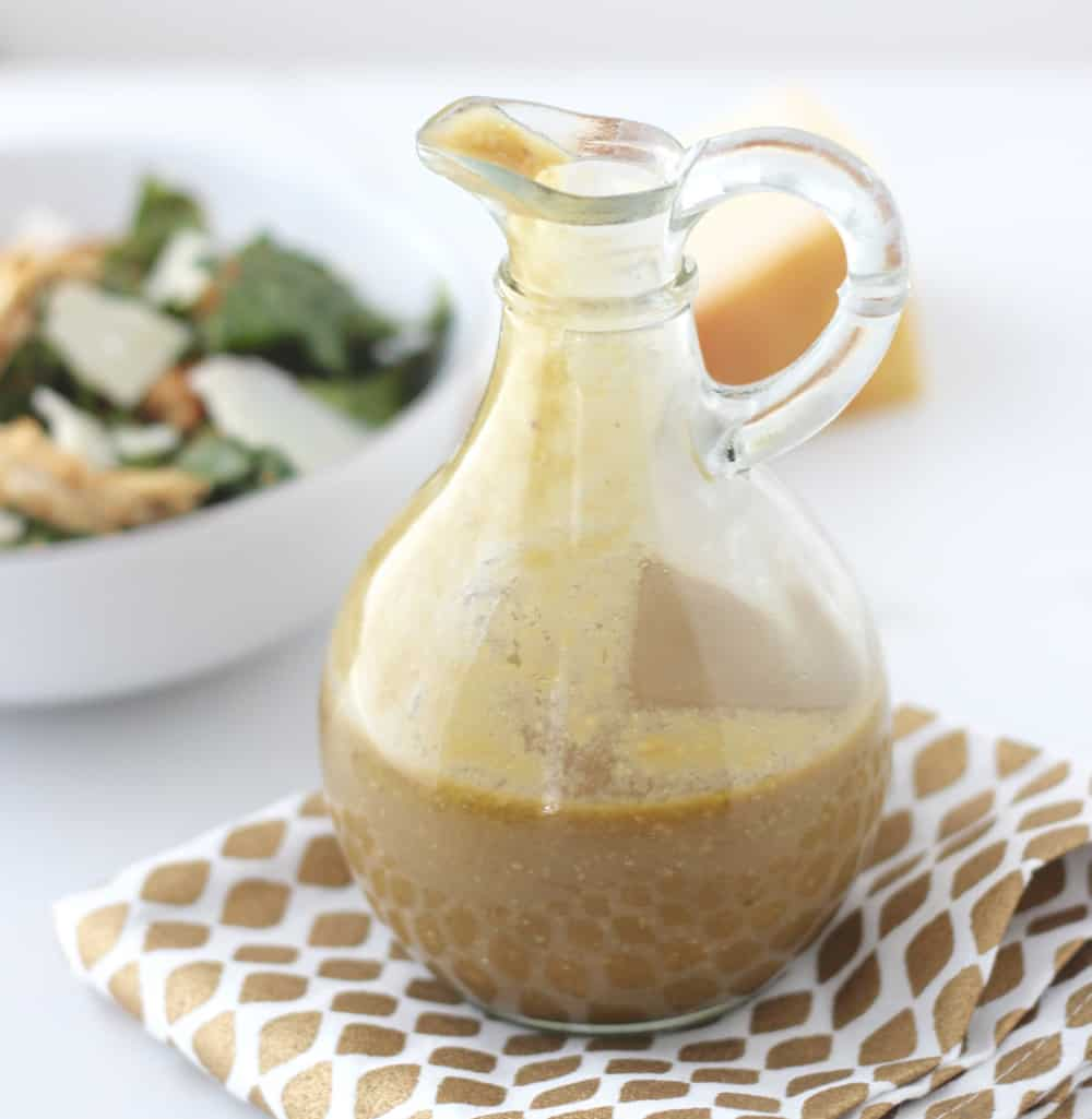 Avocado Balsamic Caesar Salad Dressing from Living Well Kitchen