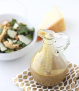 Avocado Balsamic Caesar Salad Dressing from Living Well Kitchen