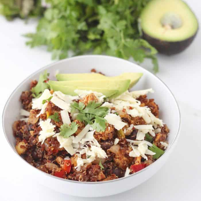 Mexican Fried Quinoa from Living Well Kitchen