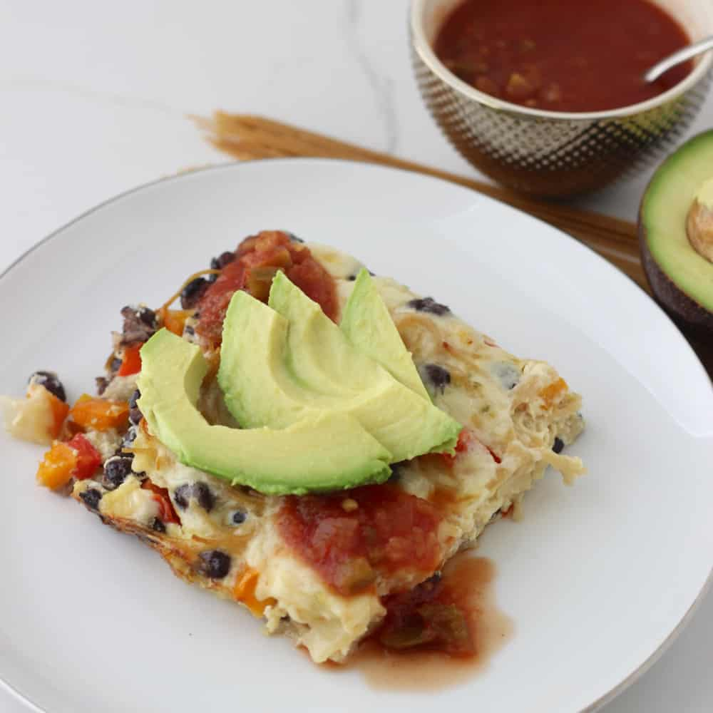 Mexican Pasta Frittata from Living Well Kitchen