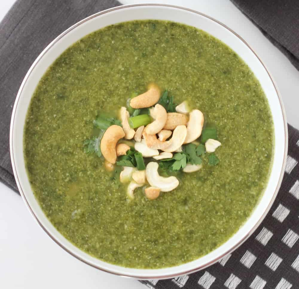 Spicy Green Soup from Living Well Kitchen