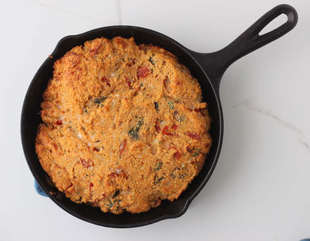 Pizza Cornbread from Living Well Kitchen