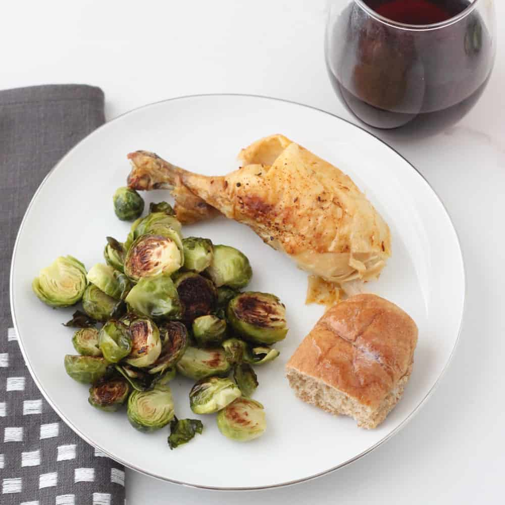 Roasted Chicken and Brussels - 4