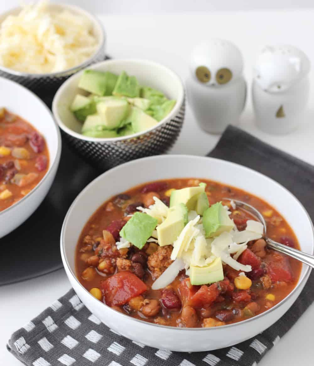 Taco Soup from Living Well Kitchen