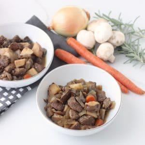 Slow Cooker Honey Balsamic Steak and Veggies