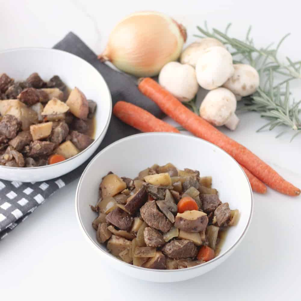 Slow Cooker Beef and Vegetables from Living Well Kitchen