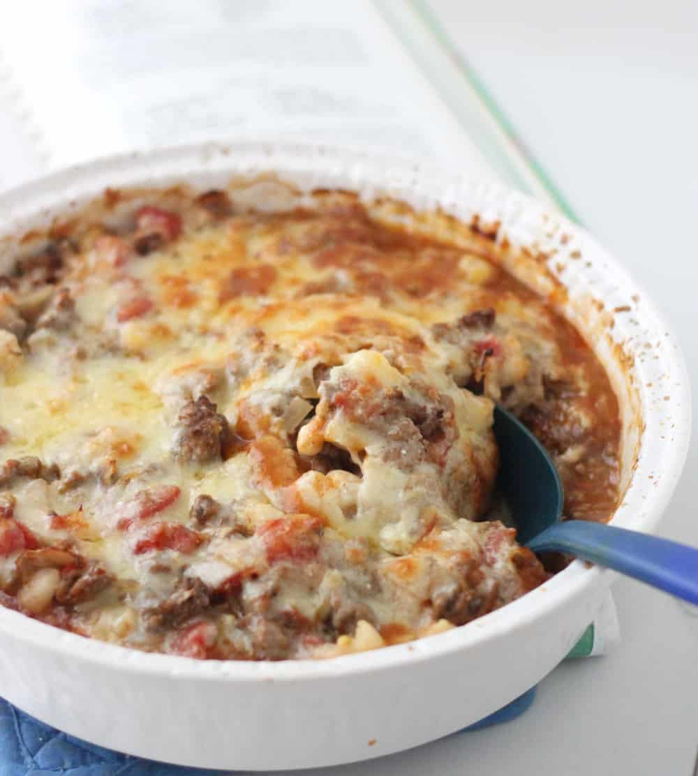 Beef and Hominy Casserole from Living Well Kitchen