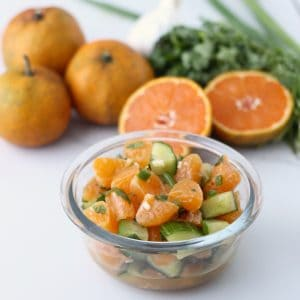 Clementine Salsa from Living Well Kitchen