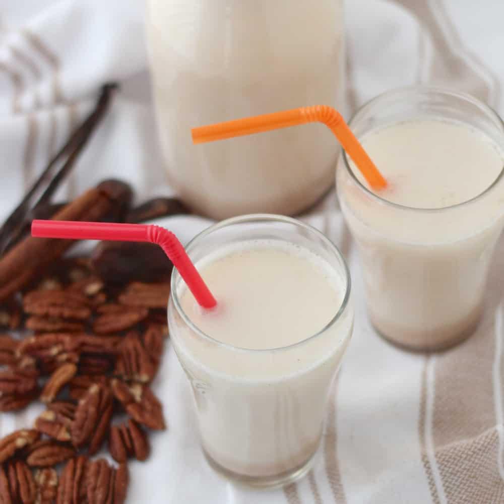 Homemade Pecan Milk from Living Well Kitchen