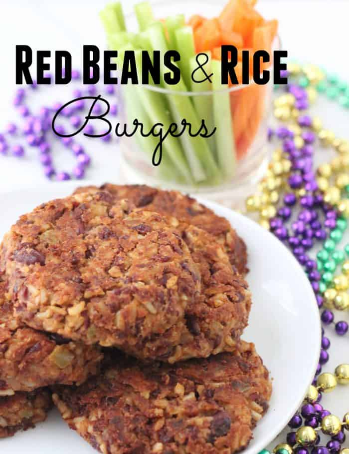 Red Beans and Rice Burger from Living Well Kitchen