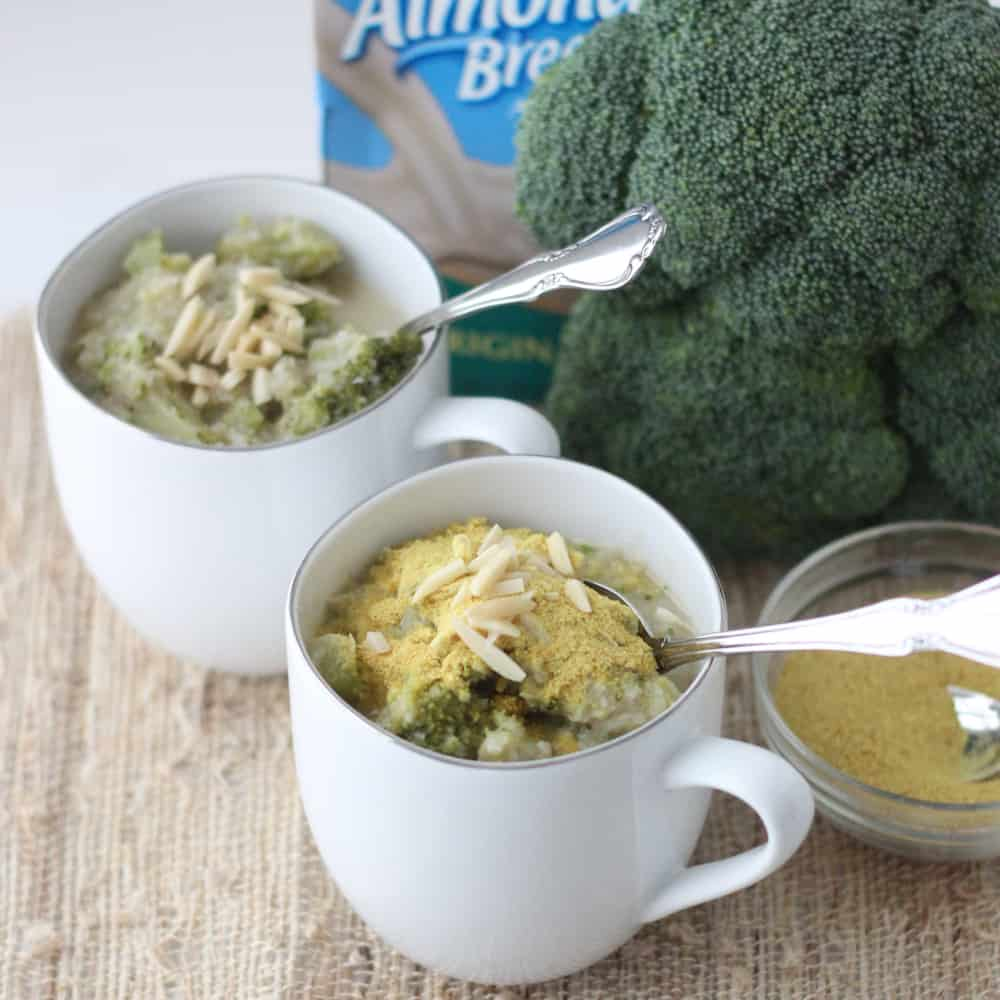 Creamy Vegan Broccoli Soup from Living Well Kitchen