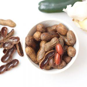 Slow Cooker Jalapeño Garlic Boiled Peanuts