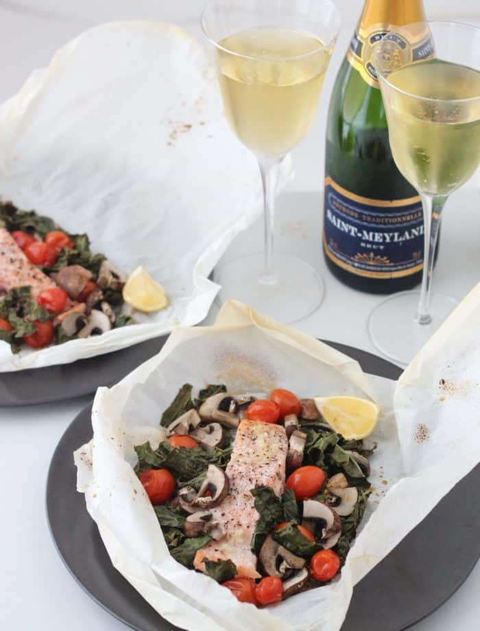 Salmon en Papillote from Living Well Kitchen