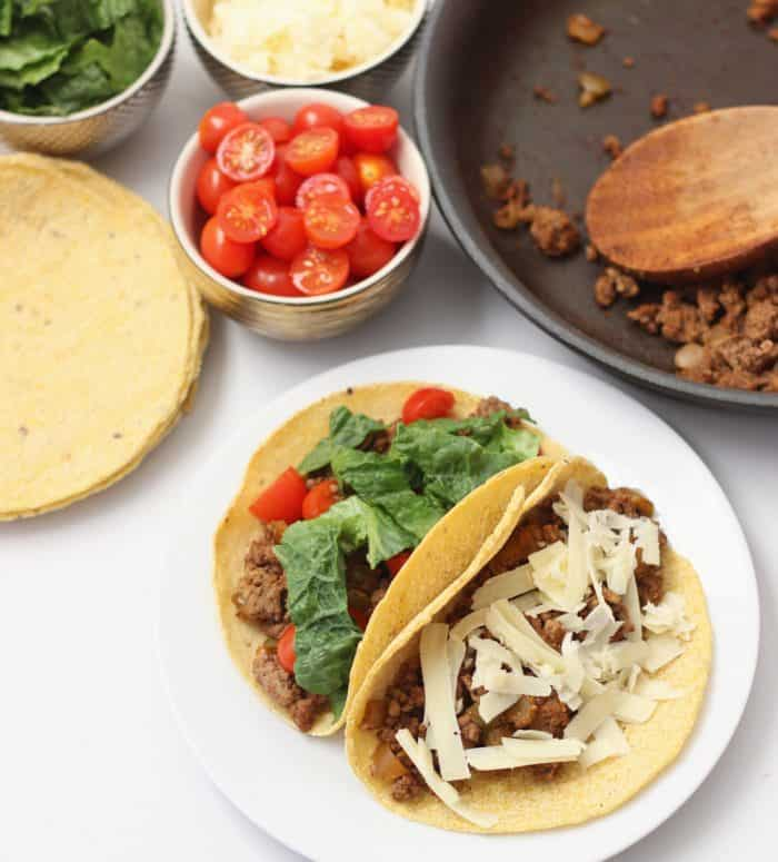 Tacos from Living Well Kitchen