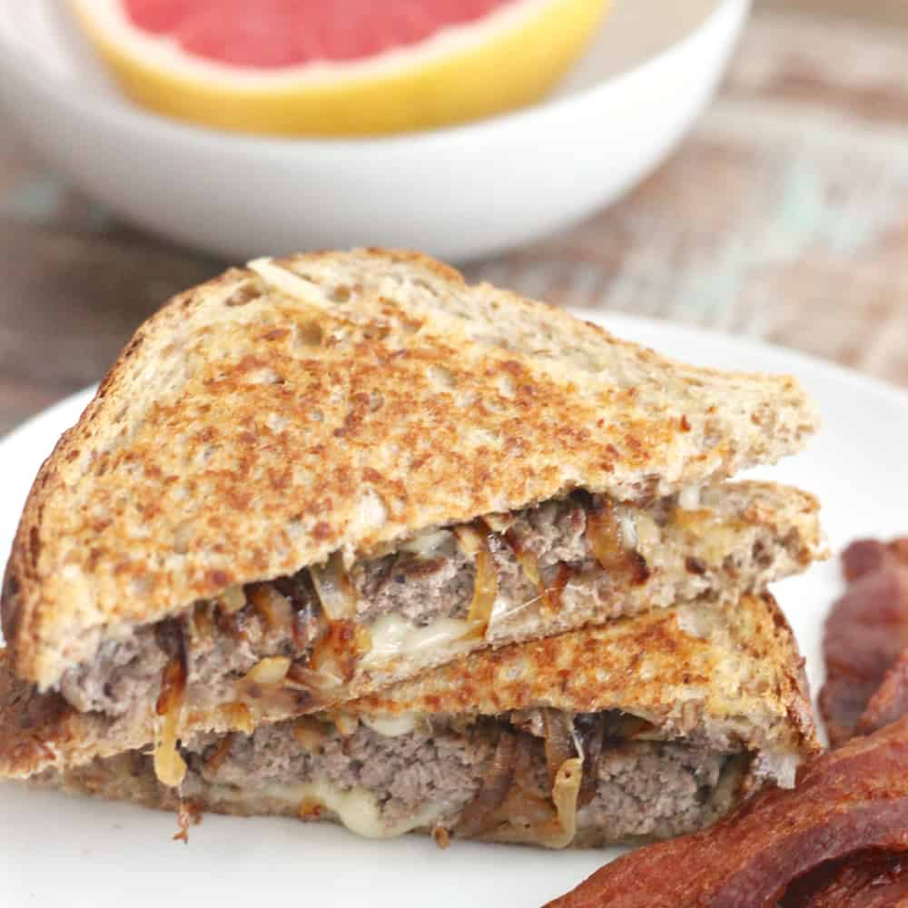 Patty Melt from Living Well Kitchen @memeinge