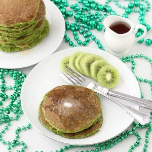 St. Patrick's Day Protein Pancakes from Living Well Kitchen