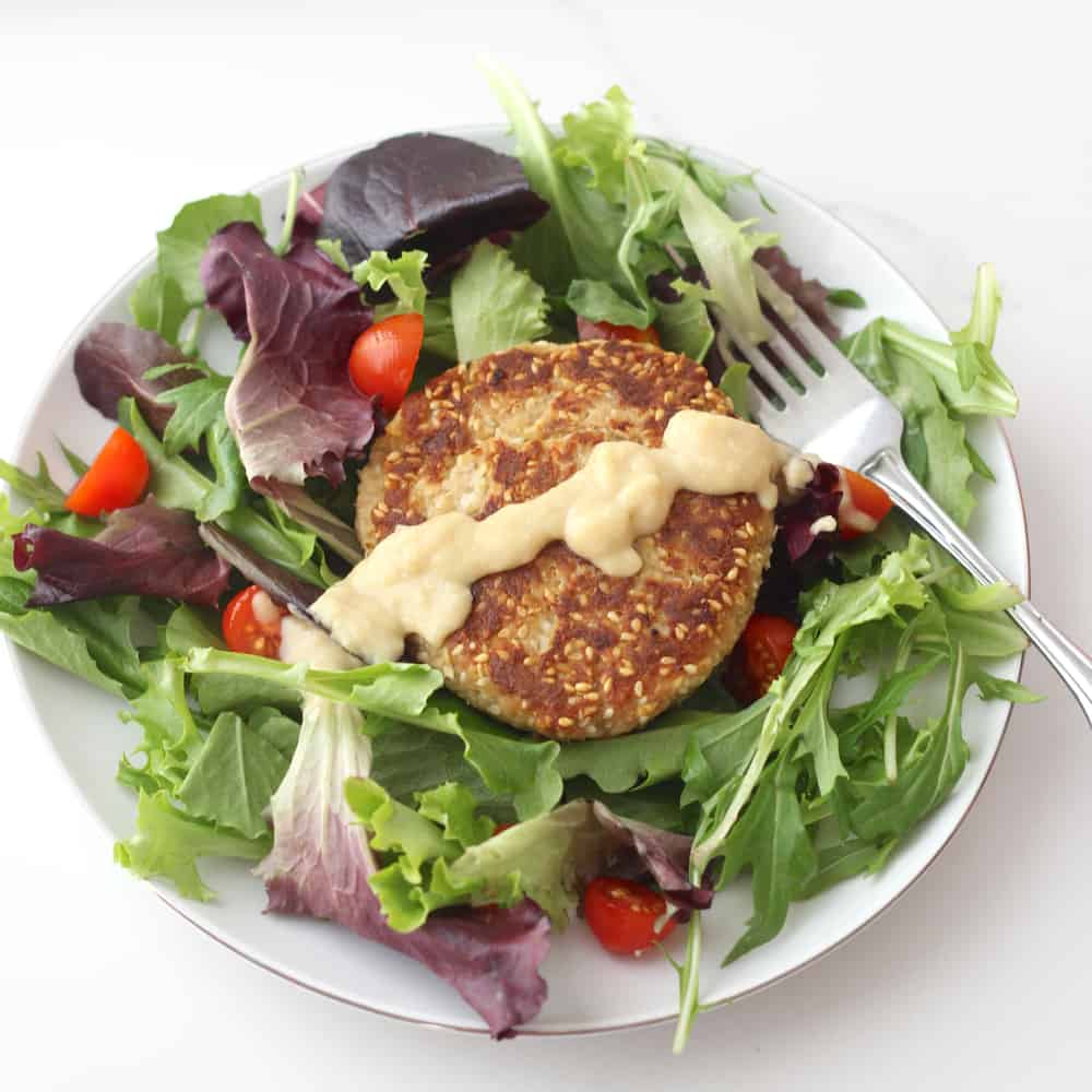 Sesame Tuna Burgers from Living Well Kitchen