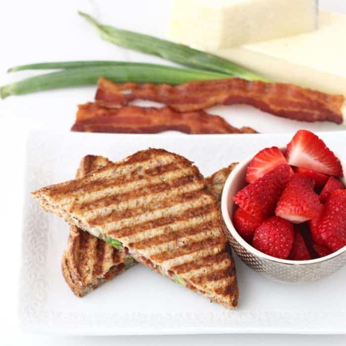 Bacon Grilled Cheese from Living Well Kitchen
